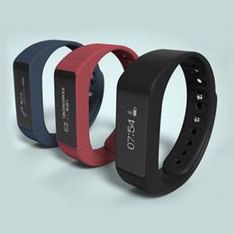I5 plus schlaue uhr online-2017 neue marke i5 plus armbänder smart watch oled anti verloren pedometer schlaf monitor erinnerung bluetooth armband für android ios