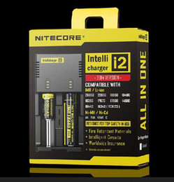 Wholesale Wholesale For Code - Genuine Nitecore I2 Universal Charger for 16340 18650 14500 26650 Battery E Cigarette 2 in 1 Muliti Function Intellicharger Security Code