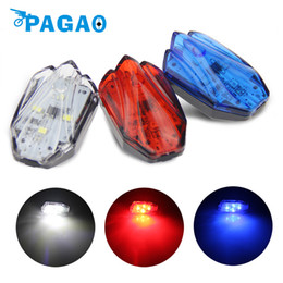 Wholesale Intelligent Bike Laser - PAGAO New High-grade Beatles Mountain Bicycle Road Bike USB charging Intelligent Safety Light Laser Tail Light Cycling 0126