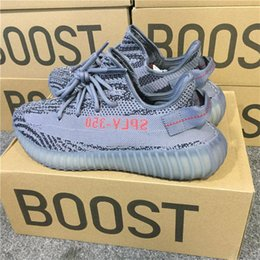 Wholesale Football Boots Free Shipping - Free Shipping 350 V2 Black, Boost 350 Green,SPLY-350 Boost V2 Orange Grey Copper,350 Boost V2 Black Red Tripe White Zebra Oreo Sneakers