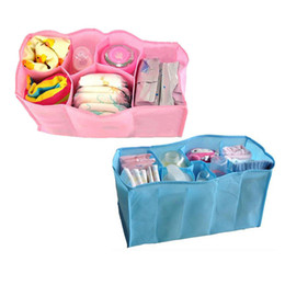 Wholesale Baby Diaper Nappy Bag Bottle - Wholesale-Clothes Bags Bottle Baby Diaper Nappies Nappy Bag Storage Bag Mother Bag Hot Travel 0036