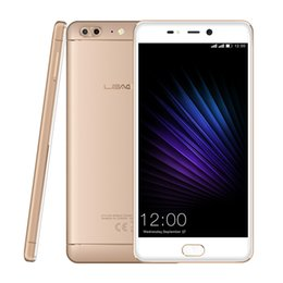 Wholesale Dual T5 - LEAGOO T5 Android 7.0 5.5Inch FHD Smartphone 4GB RAM 64GB ROM MTK6750T Octa Core 13MP Dual Rear Cams Fingerprint 4G Mobile Phone
