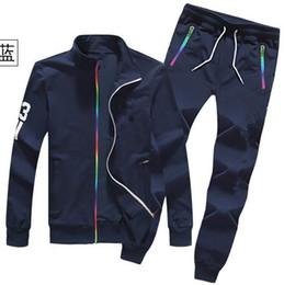 Wholesale High Waisted Pants Sale - Men's sports suit Sweatshirt+joggers pants 2016 New Spring Hot Sale Sport Suit Men Outdoor Sweatshirt Men Fashion Tracksuit.