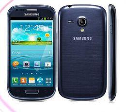 "Top mini téléphone portable en Ligne-2016 Top Mode Original Samsung I8190 Galaxy S3 Mini Téléphone 4.0 ""tactile 5mp Caméra 8 Go Rom Wifi Téléphone portable"