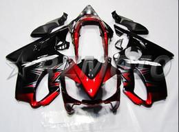 Wholesale Cbr Fairings For Sale - New 100% Fit Injection molding for HONDA CBR 600 F4i fairings 2004 2005 2006 2007 CBR600 F4i bodyworks 04 05 06 07 hot sales red black