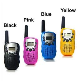 Wholesale Radio Walkie Talkie Kids - T388 Children Radio Toy Walkie Talkie Kids Radio UHF Two Way Radio T-388 Children's Walkie Talkie Pair For Boys and Girls Gift
