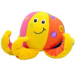 Wholesale Octopus Plush Toy - Wholesale- BOHS Plush Toy Octopus Baby Rattle,20cm
