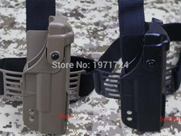 Wholesale Holster Tactical Glock - Tactical GLOCK Holster with Top Rail leg Holster for GLOCK G17