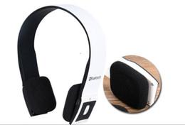 mp4 progettazione Sconti Sport Cuffie senza fili Bluetooth portatili con design di funzioni radio.