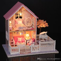 wholesale wooden doll dinning house furniture. brilliant doll handmade doll house furniture miniatura diy houses miniature dollhouse  wooden toys for children grownups birthday with wholesale dinning d