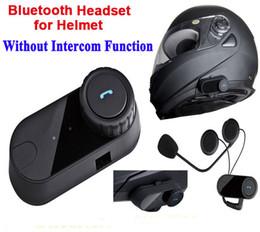 Wholesale Motorcycle Helmet Stereo Headphones - FreedConn Handfree Motorcycle Bluetooth Helmet Stereo Headphone Waterproof BT Wireless Bluetooth Headsets Motorcycle Helmets Headphone