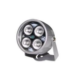 Wholesale Infrared Illuminator Light - cctv 4 array IR led illuminator Light CCTV IR Infrared Night Vision For Surveillance Camera Waterproof 40m illuminator Fill Assist