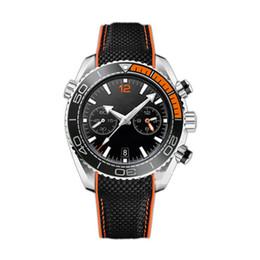 Wholesale Watch Luxury Waterproof - AAA Luxury High Quality Quartz Watches For Men Stainless Steel Belt Sport Chronography Clock Waterproof Rubber Strap Master Men Watch