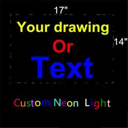 lampada alogena al tungsteno Sconti Insegna al neon personalizzata Tubo di vetro reale Birreria KTV Club Pub Negozio Affari Pubblicità Decorazione domestica Art Gift Display Display