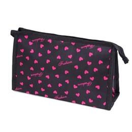 Wholesale Function Print - Wholesale- Cosmetic Bag Women Sweet Heart Leopard Printing Multi Color Multi-Function Makeup Bags Maletas De Maquiagem #6109