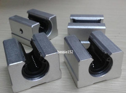 Wholesale 16mm Linear Ball Bearings - 4pcs SBR16UU 16mm Linear Ball Motion Bearing Block