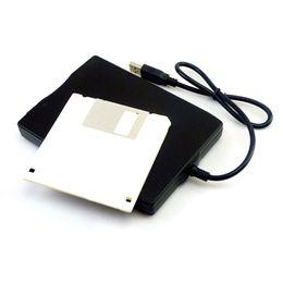 "Wholesale External Usb Floppy - Wholesale 50PCS LOT Hot 1.44Mb 3.5"" USB External Portable Floppy Disk Drive Diskette FDD for Laptop"