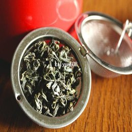 Wholesale Tea Infusers Strainers Wholesale - Tea Infuser Stainless Steel Tea Pot Infuser Sphere Mesh Tea Strainer Ball Good Quality 4.5cm 25PCS Lot