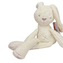 Wholesale Stuffed Animals Mamas - Wholesale- Baby Toy Plush Toy Mamas & Papas baby 54*11CM Cute Baby Kids Stuffed Animal Millie & Boris Rabbit Sleeping Comfort Doll Bunny