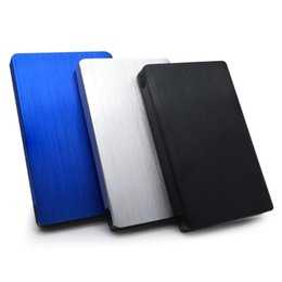 Wholesale Hdd Hard Drives - 2017 New Arrive Aluminum Alloy 2.5 Inch Usb 3.0 To Sata External Hdd Enclosure 2tb Hard Drive Case