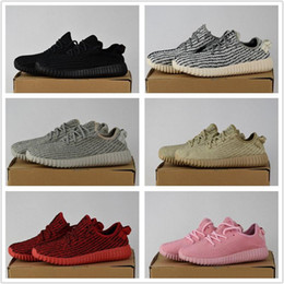 Wholesale Oxfords Summer Shoes - 2017 350 Boost Shoes Best Quality Cheap Pirate Black Turtle Dove Moonrock Oxford Tan Hot Womens Mens Shoes Kanye West Boost 350 With Box