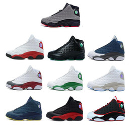 Wholesale Boy Shoes Size 13 - Top Quality Wholesale Cheap NEW Retro 13 13s mens basketball shoes sneakers women Sports trainers running shoes for men designer Size 5.5-13