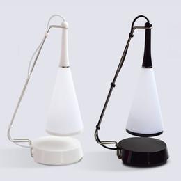 Wholesale Led Light Eye Mask - Bluetooth Speaker Table Lamp Eye Mask Bedside Reading Touch LED Night Light USB Charger Creative Atmosphere