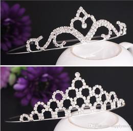 Argentina Alta Calidad Cristales Brillantes Coronas de Boda Nupcial Tiara Corona Diadema Accesorios Para el Cabello Accesorios de Boda Del Partido envío gratis Suministro