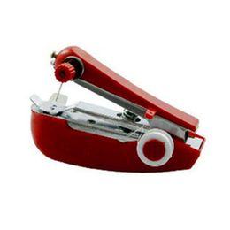 2019 stoffdruckmaschinen Kreative Aktivitäten Heimtextilien multifunktionale Mini tragbare Tasche manuelle Nähmaschine Nähmaschine günstig stoffdruckmaschinen