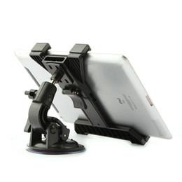 Wholesale Seat Back Mount Bracket - Wholesale-360 Rotating Car Back Seat Headrest Mount Bracket Holder Stand Bracket Kit for for iPod iPad GPS 7 to11 inch Tablet PC