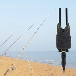 Wholesale Carp Alarms - Black Aluminium Alloy Connect With Bite Alarms Windproof Windshield Anti Falling Snag Bar Carp Fishing Tackle