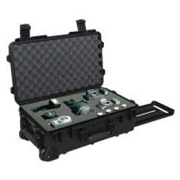 Wholesale Plastic Tool Trolley - Hard plastic trolley waterproof tool case 2500 equipment case camera case with pre-cut foam External dimensions 587*358*221mm