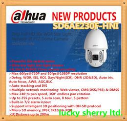 "Wholesale Dahua Ptz - DAHUA Ultra-smart Series 1 1.8"" CMOS 2Mp Full HD 30x WDR Star Light Network IR PTZ Dome Camera SD6AE230F-HNI"