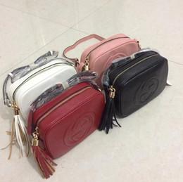 Wholesale Mini Leather Shoulder Bags - Chains Tassel pu Leather Desinger Women Handbag Famous Brand Luxury G Classic Mini Bag Shoulder Bag Gold Hardware sacos de marca