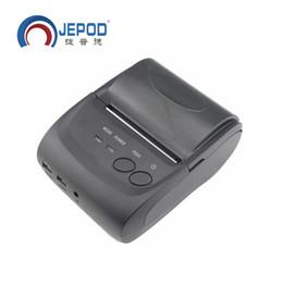 Wholesale Android Receipt Printer - JP-5802LYA 58mm Portablle Android Bluetooth Thermal Printer Receipt Printer for mobile POS printer with bluetooth ticket