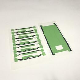 samsung aufkleber Rabatt Für Samsung Galaxy S8 G950 S8 + S8 Plus G955 LCD Digitizer Rahmen Klebefolie Original Ersatz