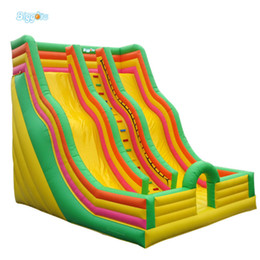 Wholesale Inflatable Slides For Kids - PVC Giant Inflatable Slide Bouncying Slide Inflatable Equipment For Sale