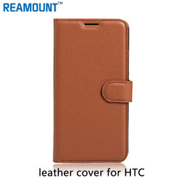 Wholesale Desire X Cases - 40 pcs High Quality Genuine Flip Leather Case For HTC One X G23 S720E Leather Cover For S720E Phone Pouch for HTC Desire 10 PRO