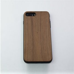 Wholesale Crafts Wholesale For Phone Cases - Wood Grain Craft phone case for iphone7 plus Natural Wood case cover protector White oak Walnut and Zebra