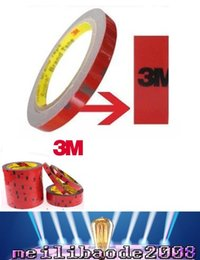 Wholesale Double Side Sticky Tape - 2017 NEW Led Strip 3528 5050 Foam Double Side Self Adhesive Tape 3M  8mm Sticky free shipping MYY
