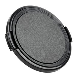 Wholesale 72mm Lens - 49mm 52mm 55mm 58mm 62mm 67mm 72mm 77mm 82mm 86mm Camera Lens Cap Protection Cover Lens Front Cap for canon nikon DSLR Lens