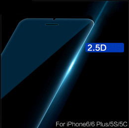 Wholesale Tempered Glass For Mobiles - Tempered glass film for iPhone7 Apple 6plus steel film 4.7 anti-fingerprint blue mobile phone membrane