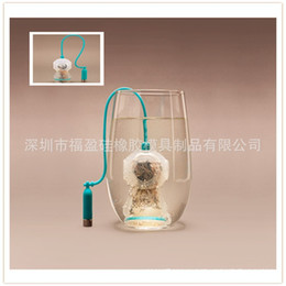 Wholesale Deep Divers - FRED Deep Coffee Tea Infusers Makers Diver Loose Leaf Strainer Bag Mug Filter Silicone Strainers Colorful 6 8cx R