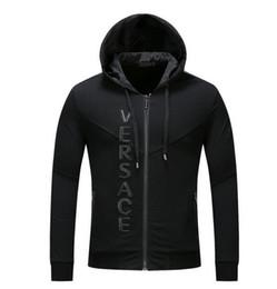 Wholesale Blazer Short Regular - New Fashion Men's Hoodie fleece Jacket Male Polos Sweatshirts blazer Brand Man Casual Hooded Coat black