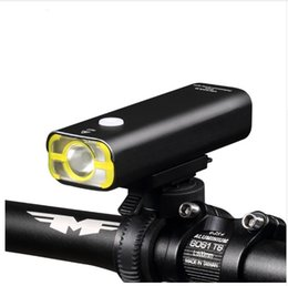 Wholesale Suzuki Batteries - Usb Rechargeable Bike Light Front Handlebar Cycling Led Light Battery Flashlight Torch Headlight Bicycle Accessories