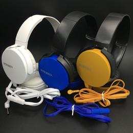 Wholesale Good Dj Headphones - Over The Ear Headphones Headset With Mic Deep Bass DJ Hi-Fi Headphones HiFi Earphones Professional DJ Good Quality Best Price Headphones
