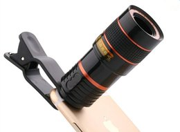 Wholesale Zoom Cell Phone - 2017 8X Smartphone Zoom Lens For Mobile Phone Cell Phone Telephoto Lens 8X Telescope Zoom Phone Camera Lens