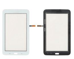 Wholesale T111 Touch Panel - T110 T111 Touch Panel for Samsung Galaxy Tab 3 Lite T111 T110 Touch Screen Black White Digitizer Glass Panel