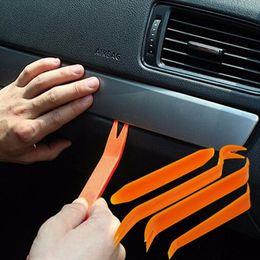Wholesale Car Dash Kits - Wholesale- Auto Car Radio Panel Door Clip Panel Trim Dash Phone Case Removal Installer Pry Kit Repair Tool 4pcs Portable Practical Toolkit