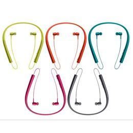 Auricular de la oreja de la caída del deporte online-Nuevo auricular colgante estéreo portátil de venta Auricular Bluetooth deportivo MS-750A de alta calidad hermoso y duradero para sony
